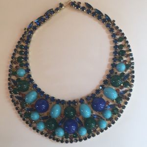 Vintage statement collar